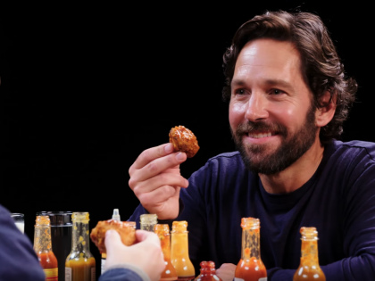 Watch Paul Rudd Crush Hot Wings & Generally Be Lovely on an All-Timer 'Hot Ones'