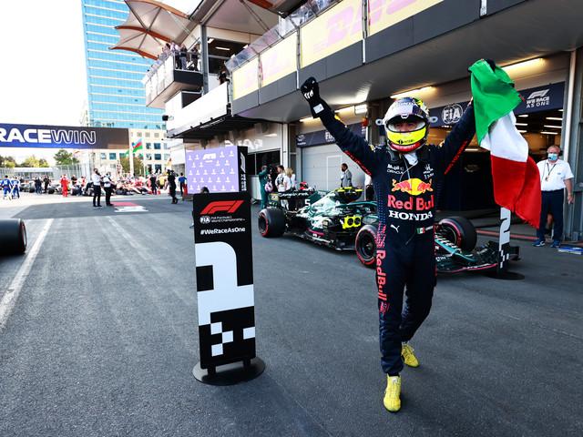 Talking points: Sergio Perez wins eventful Azerbaijan Grand Prix