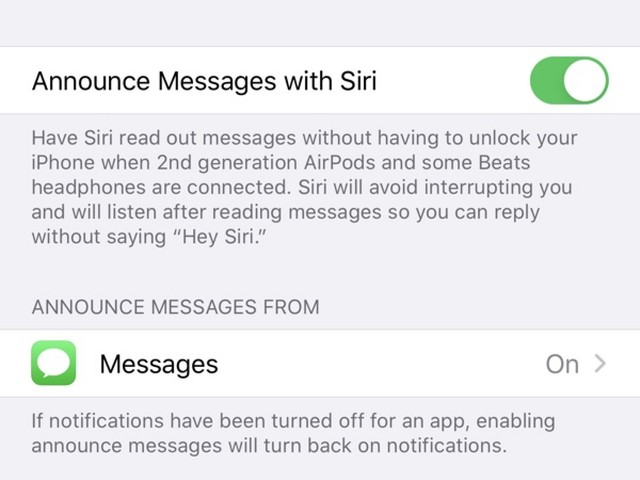What's New in iOS 13.2 Beta 1: Announce Messages With Siri, HomePod Handoff and More