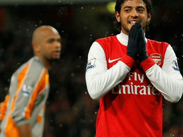 Former Arsenal striker Carlos Vela responds to claims he propositioned transsexual model in flirty texts