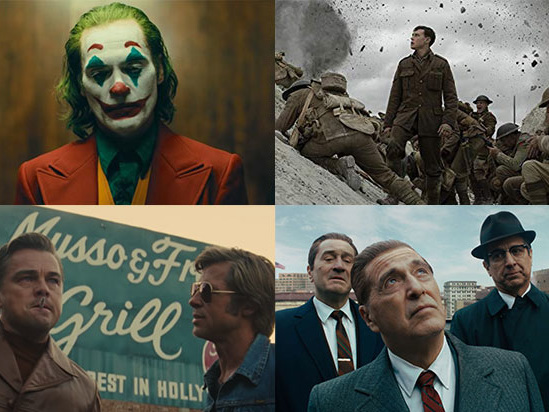 'Joker' Leads With 11 Oscar Nominations, Followed by 'Irishman,' '1917' and 'Once Upon a Time'