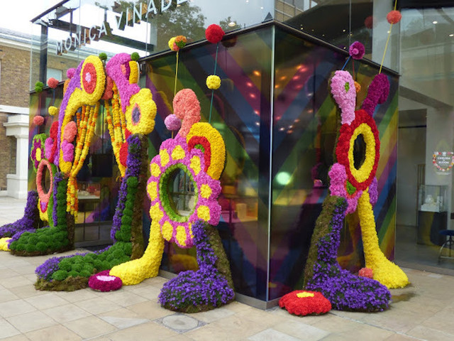 Dolphins And Whales And Turtles, Oh My! Flower Festival Chelsea In Bloom Returns