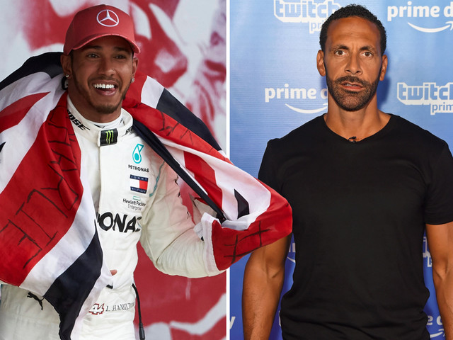 Lewis Hamilton welcomes Man Utd icon Ferdinand's support after F1 star's 'Britishness' was called into question