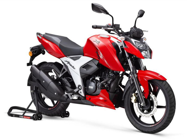 BS6 TVS Apache RTR 160 4V, RTR 200 4V launched, priced from Rs 99,950