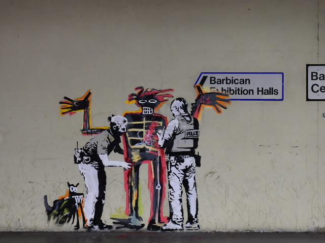 New Banksy Murals At The Barbican Explained On Instagram