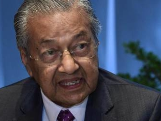 No diplomatic relations, Israelis should not come to M'sia: Dr Mahathir (Updated)