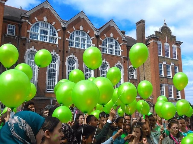 Schools go green to support Grenfell fire victims