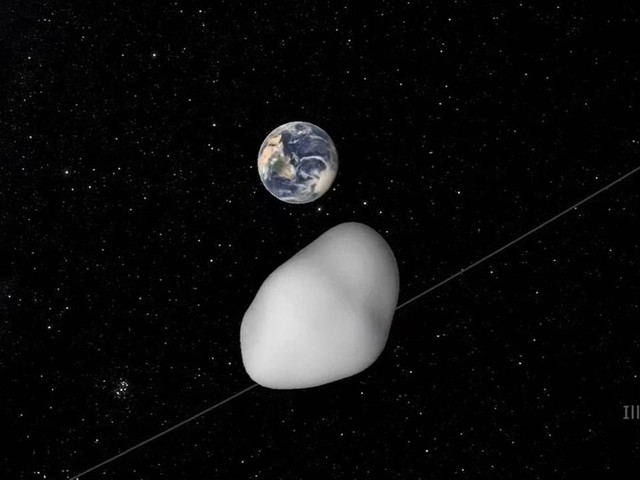 Asteroid fly-by helps NASA with warning system test