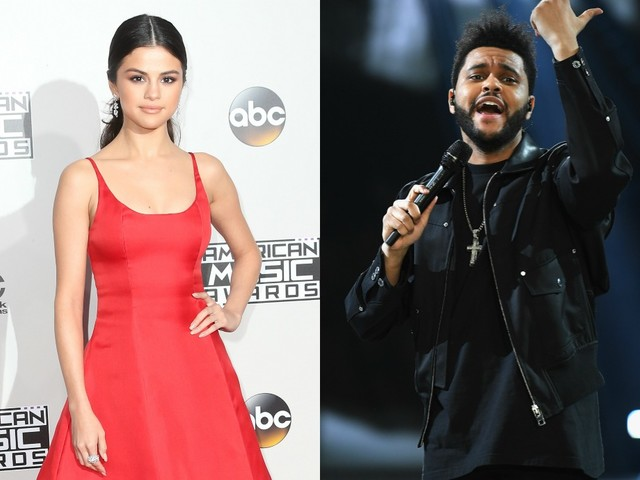 Selena Gomez and The Weeknd Cuddle Amongst Snacks on Instagram