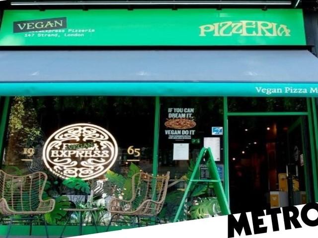 Pizza Express launches new vegan restaurant