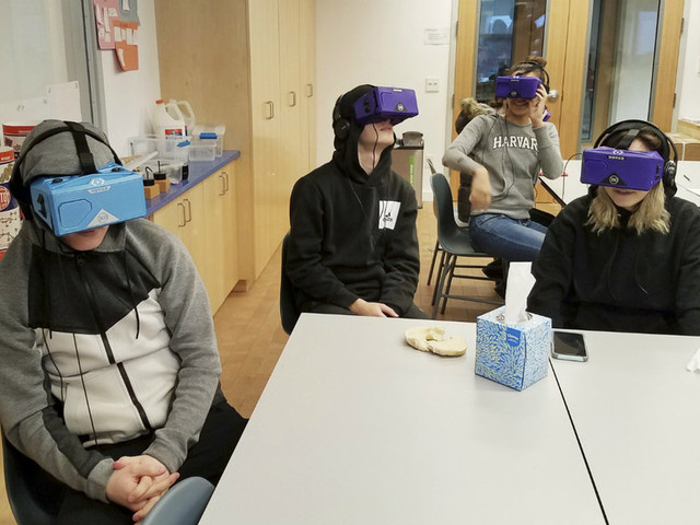 Virtual reality brings deep-sea diving and the farm to the classroom