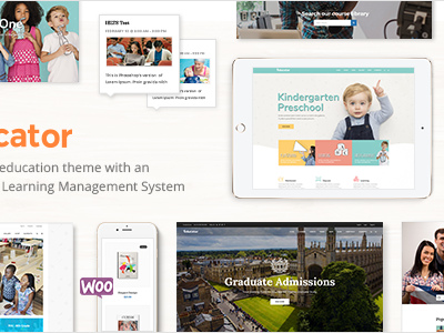 Educator - An Education and Learning Management System Theme (Education)