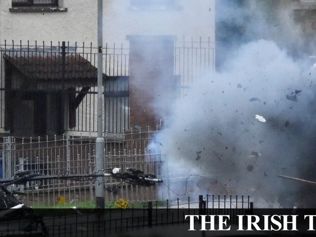 Derry bomb: 'People are angry – they don't want this type of activity'