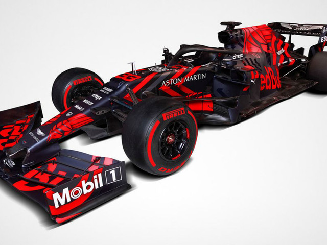 Red Bull RB15 2019 car livery launch: pictures and best F1 fan reactions