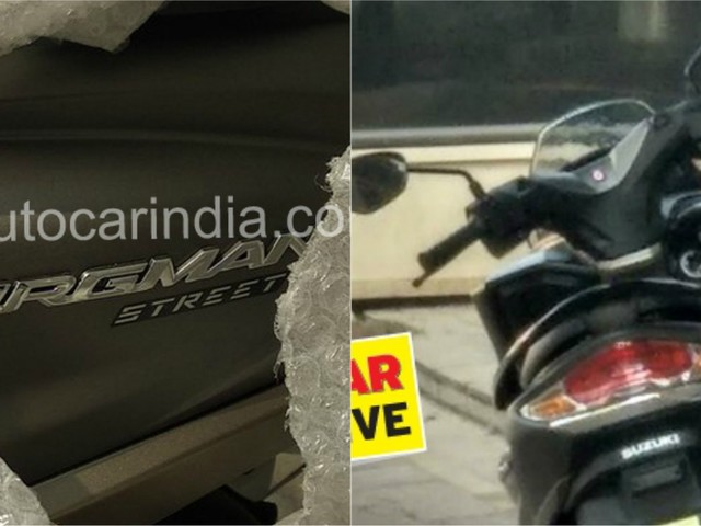 SPIED : Suzuki Burgman Street Spotted In India; Likely To Arrive At 2018 Auto Expo