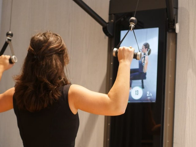 I tried the $3,000 digital weights machine that's like a Peloton for strength training and found how at-home fitness systems are the future — at least for those that can afford it