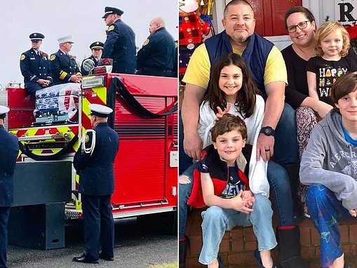 Four children aged six to 14 are orphaned after anti-vaccine firefighter and his wife die of COVID