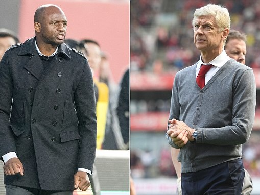 Patrick Vieira would consider Arsenal return and admits he is 'ready' for job in Europe