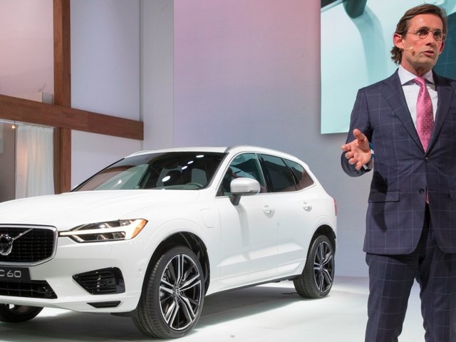 Volvo is sticking with Uber to win the autonomous driving 'marathon'