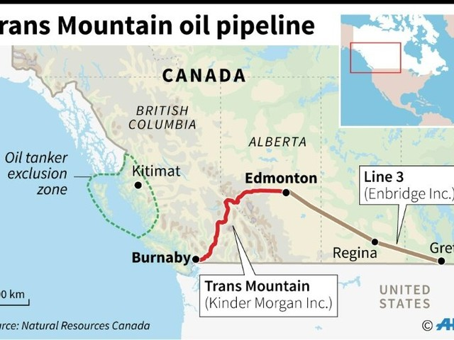 Canada energy regulator gives nod to Pacific pipeline