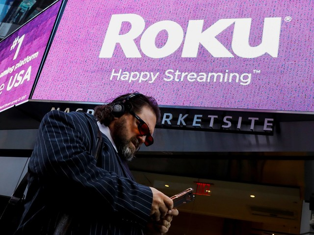 Roku jumps after news that it's rolling out a new ad tracker (ROKU)