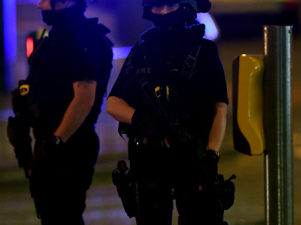 Manchester police conduct explosion in terror probe