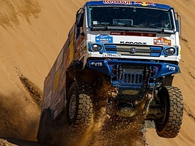 Russians Hit Dakar 2020 with the Kamaz Master Team Sponsored by Red Bull