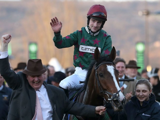 Northern trainers heap praise on Brian Hughes as he is crowned champion jumps jockey