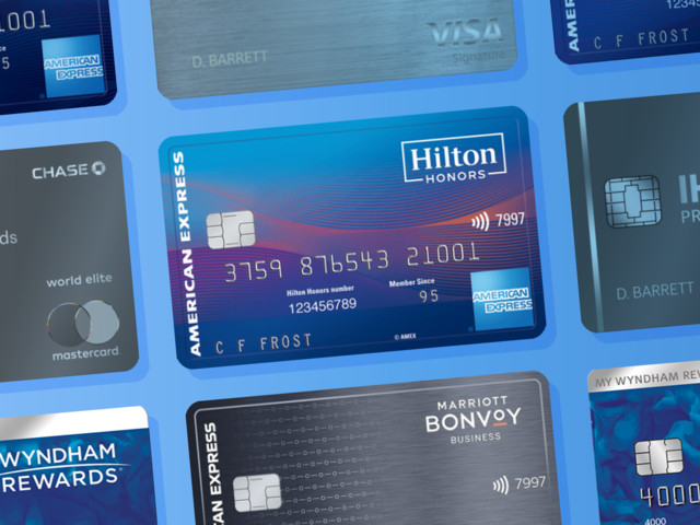 The 7 best hotel credit cards from Hilton, IHG, Marriott, and more
