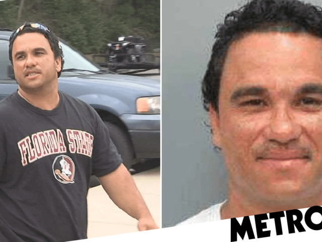 Serial road rager arrested for 'thrusting his hips at politician's daughter'