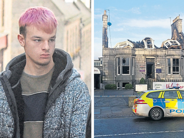 Teenager broke into fire-hit Aberdeen restaurant and stole six charred bottles of prosecco