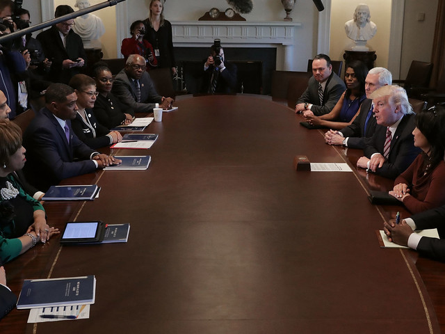 Black Caucus Declines Meeting With Trump, Says His Actions Speak Louder Than Words