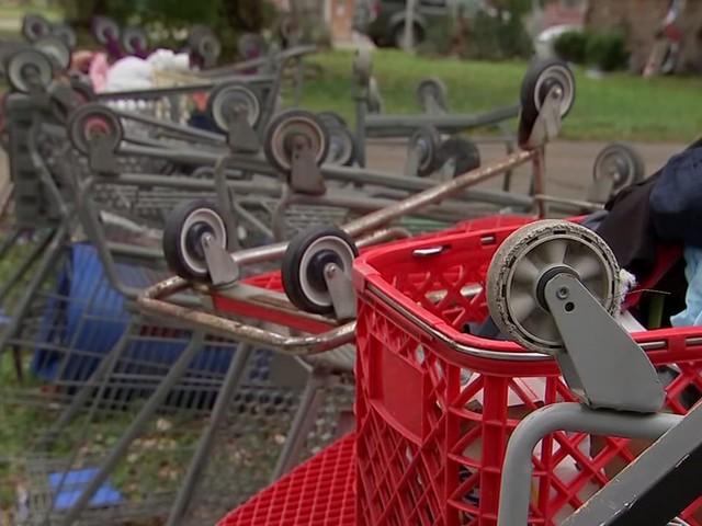 Piles of shopping carts remain problem in southwest Houston neighborhoods