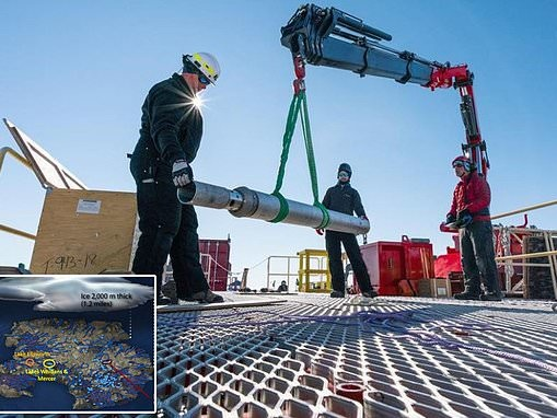 Scientists find animal carcasses in Antarctic lake buried under 3,500 feet of ice