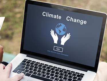 Team studies evolution of climate change activism