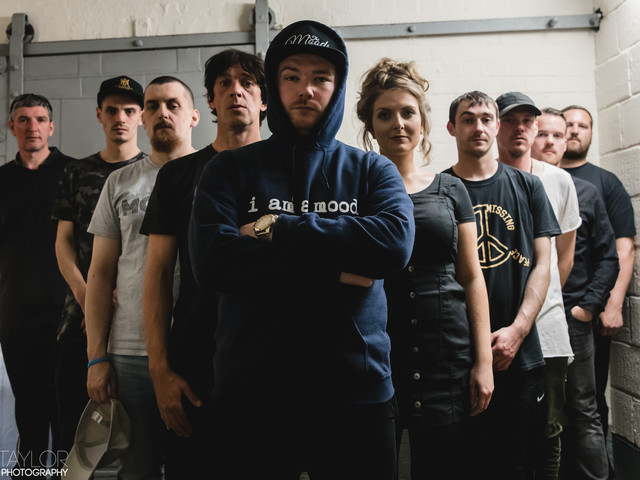 New band of the day : Moods : Manchester based electro hip hop reggae crew