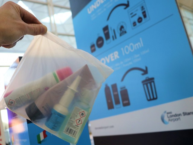 London Stansted the first major airport in the UK to trial fully compostable security bags