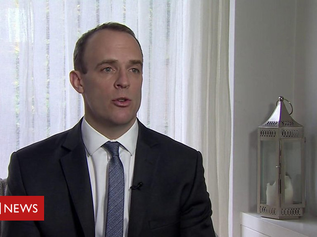 Raab: 'Major and fatal flaws' in PM's plan