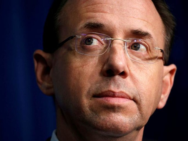 What Does Trump Want From Rosenstein?