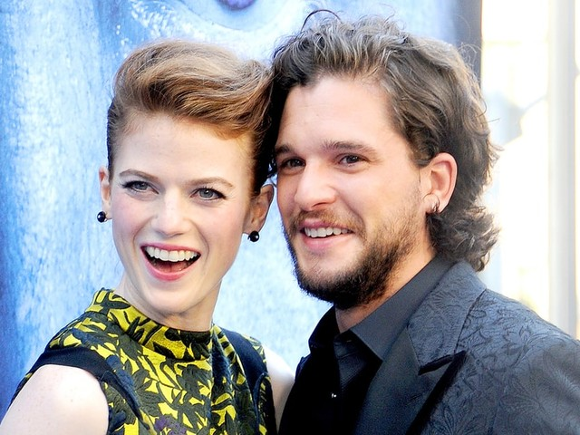 Rose Leslie Made Her Fiance Kit Harington Go to Party Dressed as Jon Snow