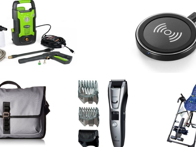 Amazon daily deals for Wednesday, April 18: Pressure washers, Timbuk2 bags, electric razors, and stuff to help your back