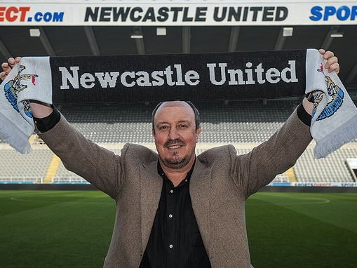 Benitez connected with the fans of Newcastle in a way not seen since Keegan