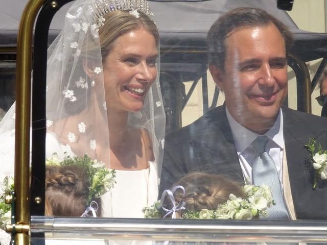 The wedding of HSH Princess Maria Annunciata and Emanuele Musini