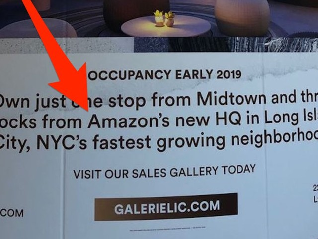 Amazon isn't coming to New York City —and it's a kick in the face for the people who bet big on property in Queens (AMZN)