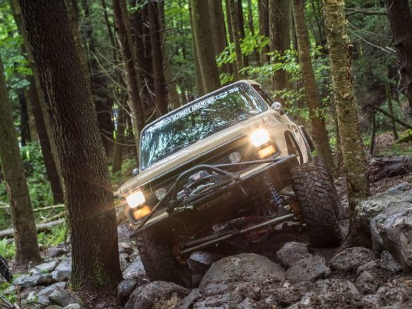 Off Road Design is the Official Transfer Case of Ultimate Adventure 2018