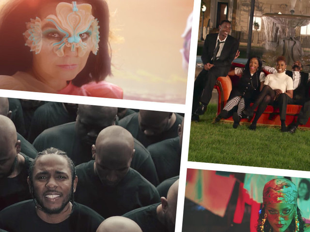The Best Music Videos of 2017 (So Far)