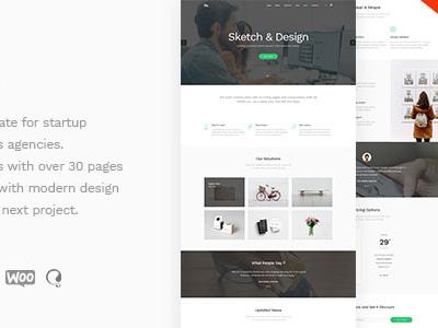BoTheme - Startup Business WordPress Theme (Business)