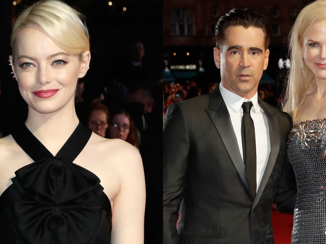 Emma Stone Joins Colin Farrell & Nicole Kidman at 'Killing of a Sacred Deer' London Film Fest Premiere!