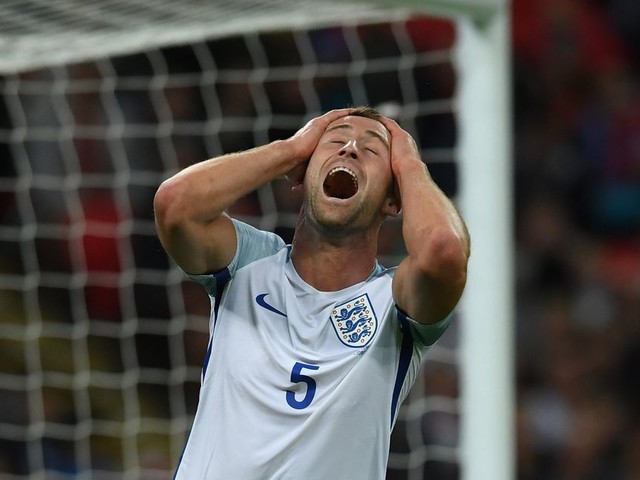 Gary Cahill looking for a bit of positivity in England's World Cup prospects