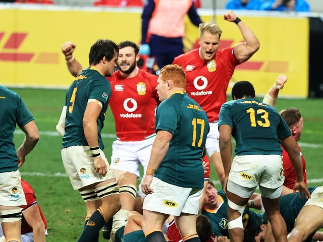 How the Lions turned the tables and beat South Africa at their own game
